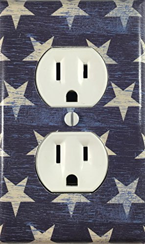 ag Stars Country Decor Decorative Outlet Wall Plate ()