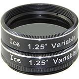"ICE 1.25"" Variable Polarizing Eyepiece Moon Filter for Telescope Polarizer"