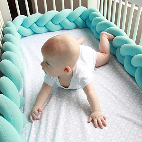 Sttech1 Baby Infant Colorful Creeping Guardrail Bed Safety Rail Protect The Baby for Toddler Room Decoration (A1 3M) from Sttech1-Blanket Rug