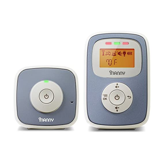 iNanny N30 Digital Audio Baby Monitor with Backlit LCD Display