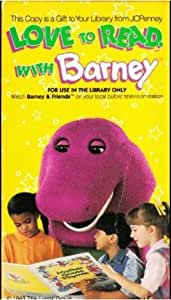 Amazon.com: Love to Read with Barney: Barney: Movies & TV