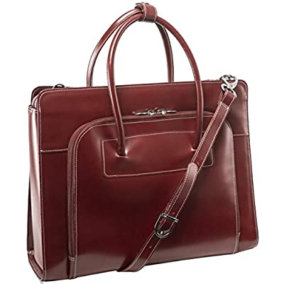 good McKlein W Series Lake Forest Women's Italian Leather Briefcase