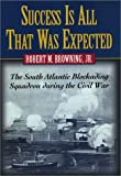 Success Is All That Was Expected: The South Atlantic Blockading Squadron During the Civil War