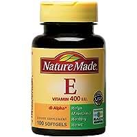 Nature Made Vitamin E 400 I.U. Softgels 100 ea