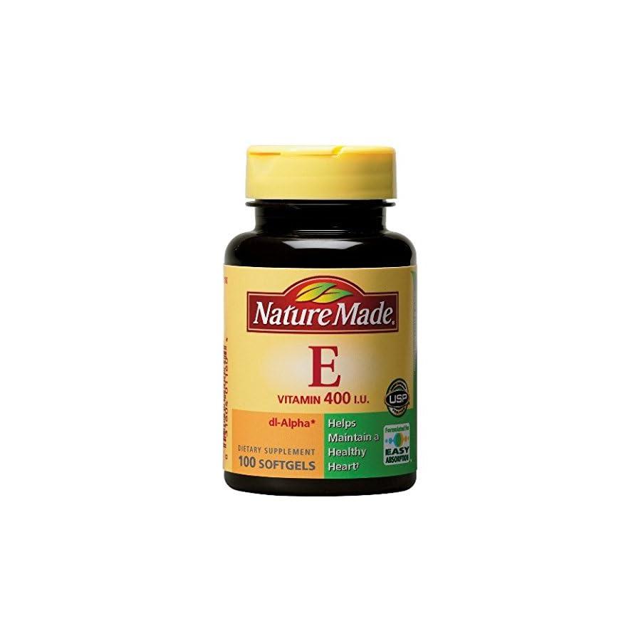 Nature Made Vitamin E 400 IU (dl Alpha) Softgels, 300 Ct