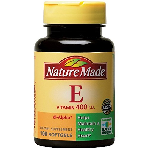 Nature Made Vitamin E 400 IU (dl Alpha) Softgels, 300 Ct