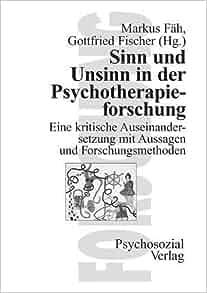 sinn und unsinn in der psychotherapieforschung german. Black Bedroom Furniture Sets. Home Design Ideas