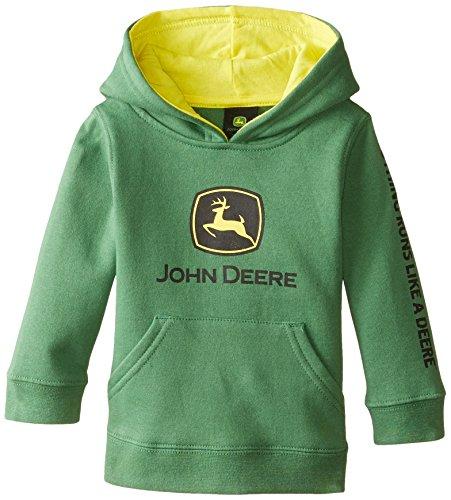 John Deere Baby Boys' Trademark Fleece, Green, 12 ()