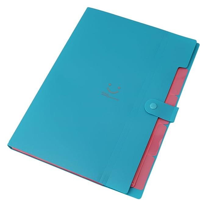 Amazon.com: SOURBAN Carpetas Stationery Carpeta File Folder Archivadores Anillas A4 Document Bag Office Supplies: Home & Kitchen