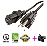 AC Power Cord Cable For ViewSonic VX2250WM LED Monitor - 25ft