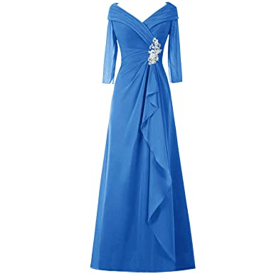 Mother of The Bride Dresses Long Sleeve Plus Size Evening Gowns for ...
