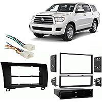 Fits Toyota Sequoia 2008-2014 Multi DIN Stereo Harness Radio Install Dash Kit