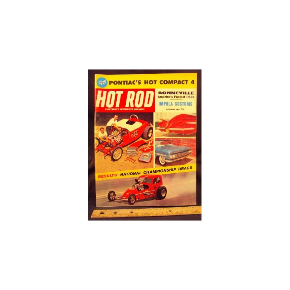 1960 60 NOV November HOT ROD Magazine, Volume 13 Number # 11
