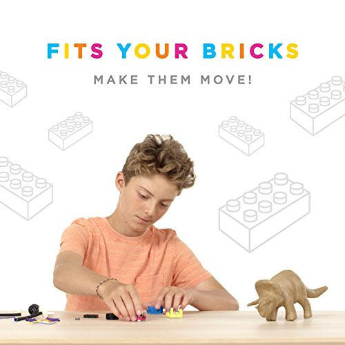Circuit Cubes Bright Lights STEM Toy Lego Compatible Electronic Building Blocks Construction Kit Ultra Bright LED Projects