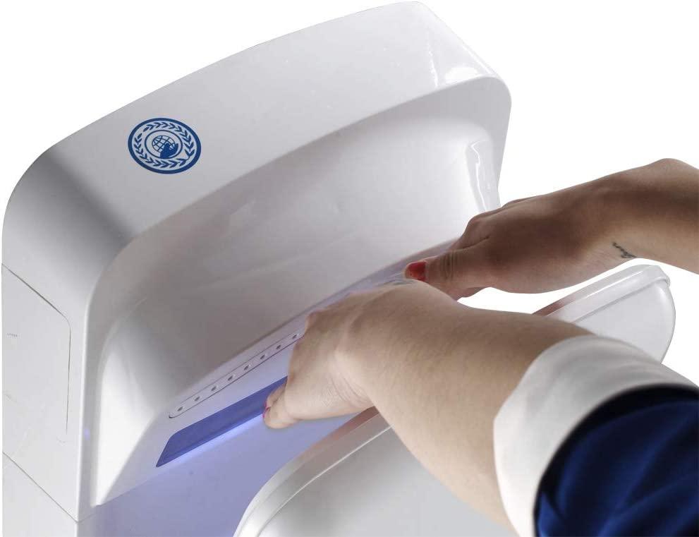 JD01 Secadores El/éctricos de Alta Velocidad para el Ba/ño de los Inodoros UnionFashionLi Secador Manos Automatico