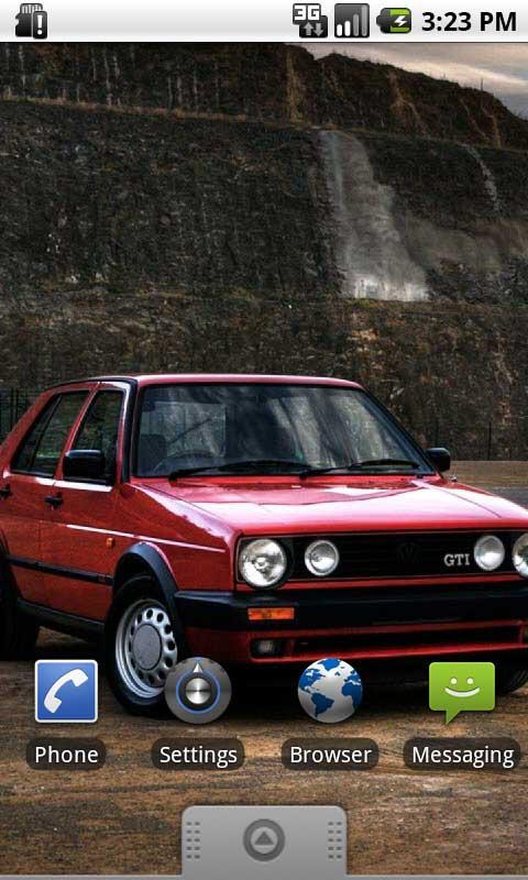 Volkswagen Golf 2 Live Wallpapers Amazones Appstore Para