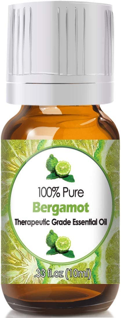 Bergamot Essential Oil for Diffuser & Reed Diffusers (100% Pure Essential Oil) 10ml