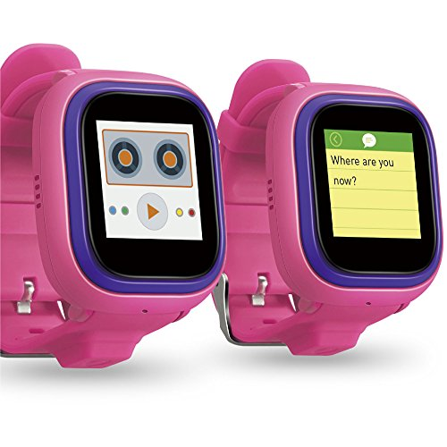 NEW TickTalk 2.0 Touch Screen Kids Smart Watch, GPS Phone watch, Anti Lost GPS tracker with New App, Better Positioning Chip, Things To Do Reminder, Phone/Messaging (SIM CARD INCLUDED) (Pink) by TickTalk (Image #2)