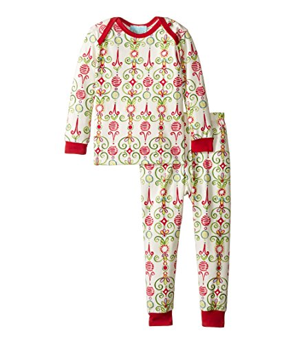 BedHead Kids Baby Boy's Long Sleeve Long Pants Set (Infant) Christmas Party Pajama Set 6-12 Months