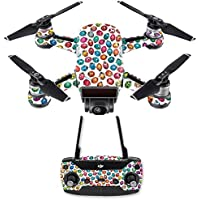 Skin for DJI Spark Mini Drone Combo - Color Bugs| MightySkins Protective, Durable, and Unique Vinyl Decal wrap cover | Easy To Apply, Remove, and Change Styles | Made in the USA