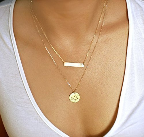 necklace palmbeach detail multi plate personalized heart silver nameplate jewelry gold sterling products over name cfm