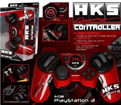 Racing Controller HKS for Ps3 Ps2 and Pc Steering Racing Whe
