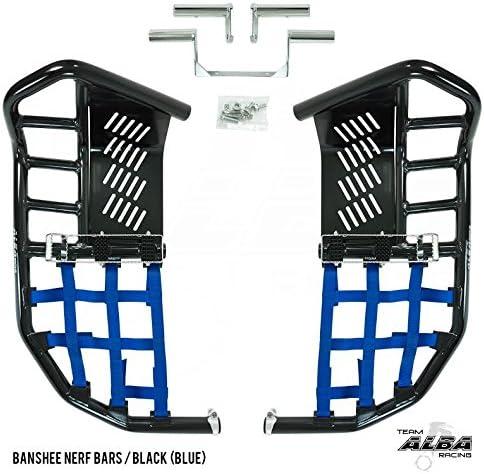 Nerf Bar Nets for Tusk Alba 757 Titan Fits Honda Yamaha Suzuki Kawasaki Blue