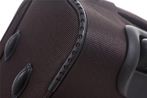519QcFPFAuL - 8005 3 piezas, 4 ruedas de maletas duras tela maleta conjunto de equipaje maleta de viaje en 5 coloures