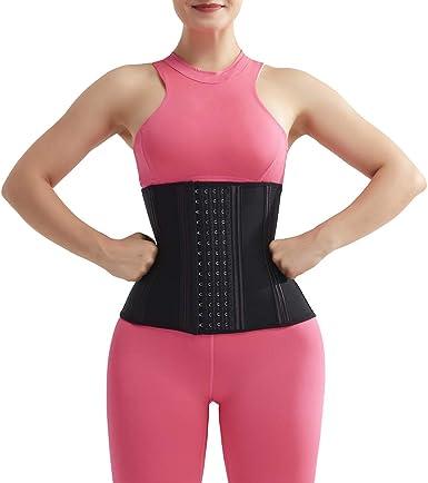 YOUCOO Women Waist Trimmer Belt Waist Trainer for Weight Loss Corset Waist Training Trainer Sport Girdle