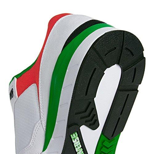 CONVERSE WAVE RACER OX BIANCO-VERDE-ARANCIO 147447C