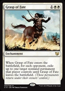 Magic  the Gathering  Grasp of Fate (003 342)  Commander 2015 by Magic  the Gathering