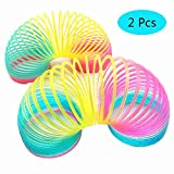 Magic Spring Rainbow Toy - 8.5 CM,2 Pack