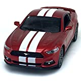 2015 camaro z28 model car - 2015 Ford Mustang GT White Stripes Red Kinsmart 1:38 DieCast Model Toy Car Collectible