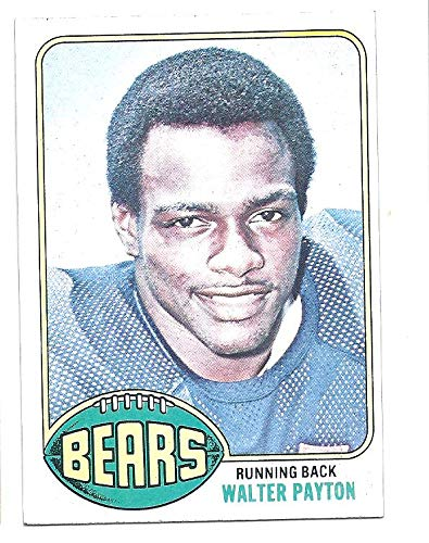Walter Payton 1976 Topps 148 Rc Rookie Card Chicago Bears