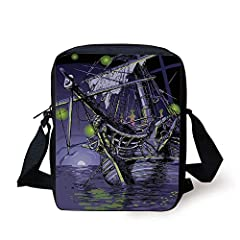 The strap is adjustable and ultra-comfortable across your back and chest. It can act as a single-shoulder bag/sling bag, or a cross-body bag for use. Stylish, Unisex It is a nice little bag for school, college, working, dating, shopping and t...