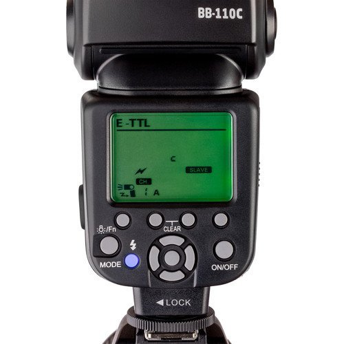 Brilia BB-110C Bare-Bulb TTL Flash for Canon Cameras