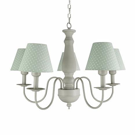 Lámpara de techo Chandeliers American simple de 5 columnas ...
