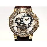 ハリー・ウィンストン オーシャン トゥールビヨン ビッグデイト世界限5本 OCEMTD45RR003 シルバー文字盤 メンズ 腕時計 新品 [並行輸入品]