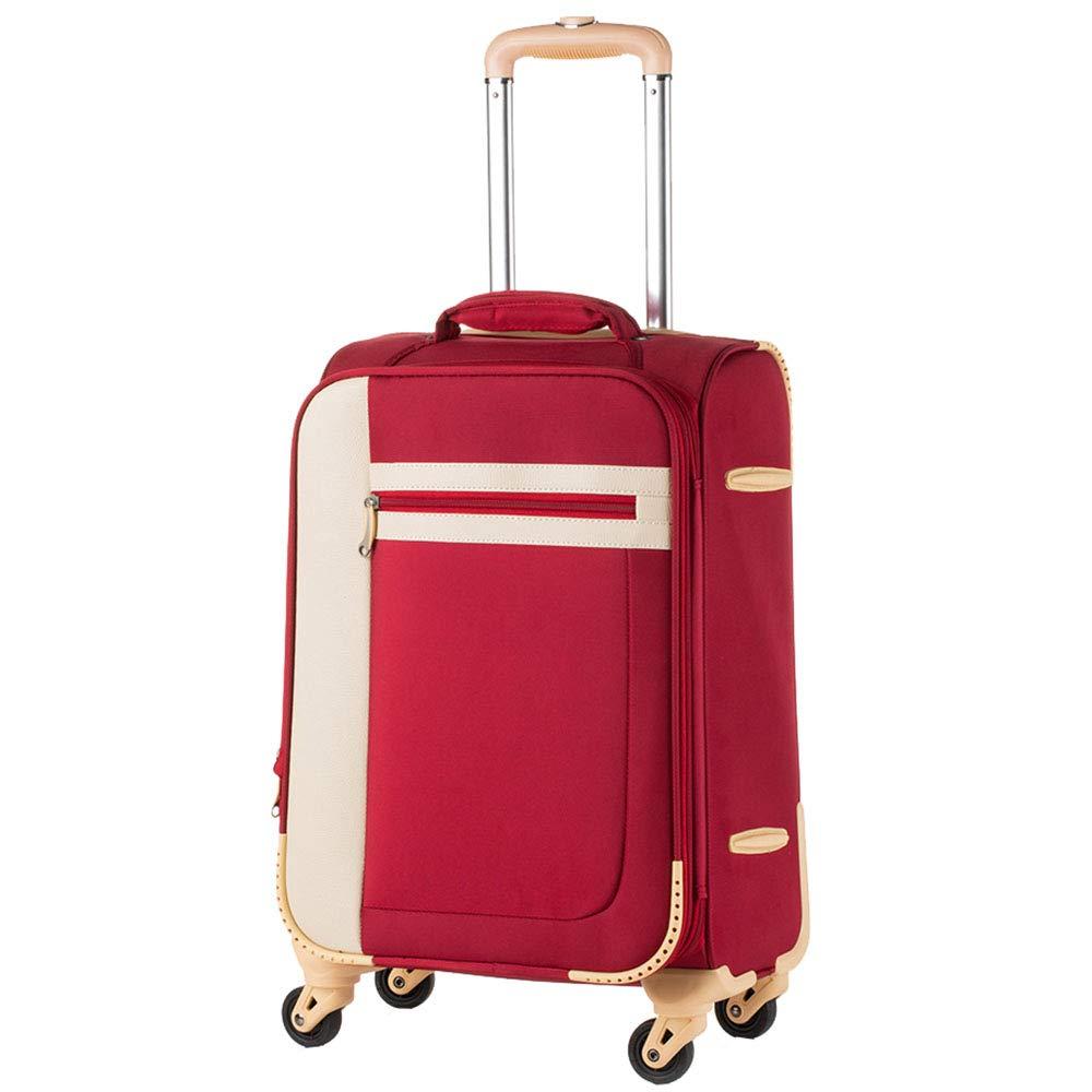 トローリースーツケース荷物スーツケース荷物ユニバーサルユニバーサルホイールスーツケース20インチ女性ボックス小 B07KTZBHHZ