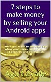 This ebook shows you the hidden secrets of selling apps to other developers and obtaining a great exit strategy for apps that have never started making money.
