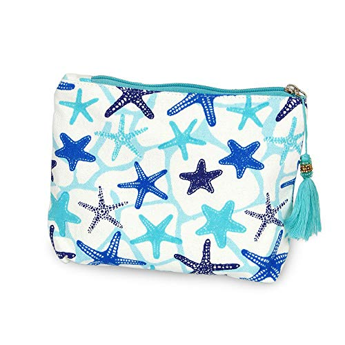 - CCFW Cosmetic Pouch Bag Clutch Handbag Casual Purse Cosmetic Make-up Case Pouch Bag Clutch Handbag Casual Purse (Blue starfish)