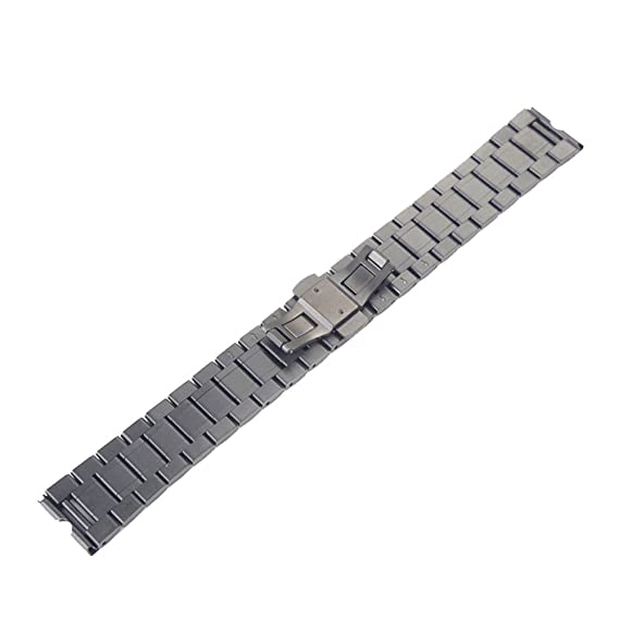 inkach® Acero inoxidable Banda de reloj mariposa hebilla para Motorola Moto 360 reloj inteligente: Amazon.es: Relojes