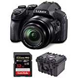 Cheap Panasonic LUMIX DMC-FZ300K, 4K Video, Splash & Dustproof Body, Leica DC Lens 24X F2.8 Zoom (Black) Bundle