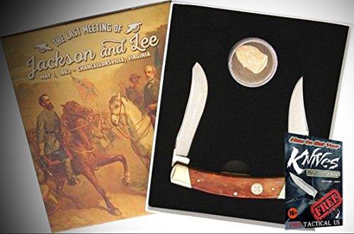 (Rough Rider Elite Knife 0111534 Civil War Moose Last Meeting Folding Dual Blade Folder + free eBook by ProTactical'US)