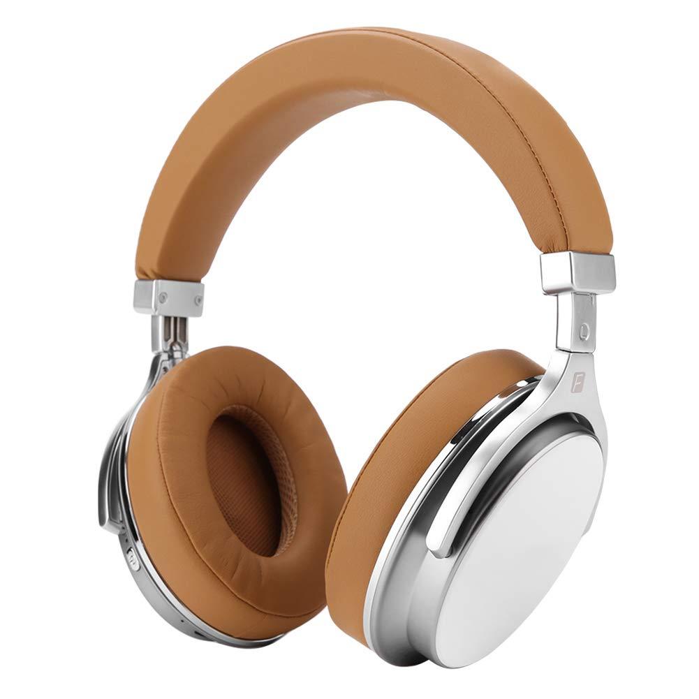 Ciglow ワイヤレス ノイズキャンセリング Bluetooth ヘッドフォン オーバーイヤー スマートフォン ヘッドフォン Bluedio Vector Flow テクノロジー オーバーイヤーデザイン ワイヤレスイヤホン用, Ciglowtav5x2rm9o-02  イエロー B07QG31R5R