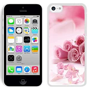 Cute Pink Rose For HTC One M7 Case Cover Couples
