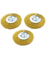 Brass Coated Wire Drill Brush Kits