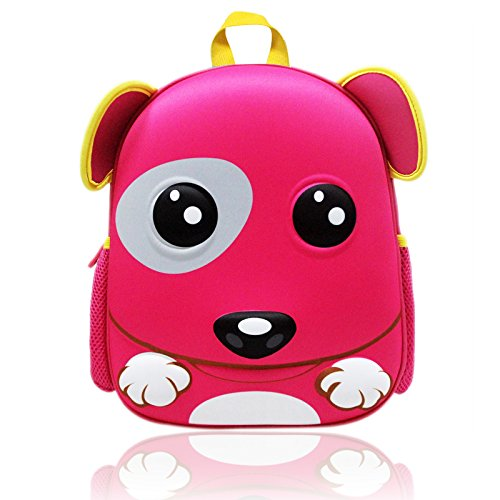Zahara Waterproof Turtle Hard Shell 3D Puppy Dog Preschool Bag Children Toddler Kids Backpack for Boys Girls (Halloween Mini Books For Kindergarten)