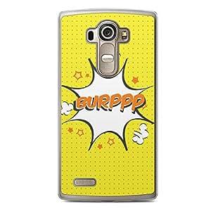 Burp LG G4 Transparent Edge Case - Comic Collection