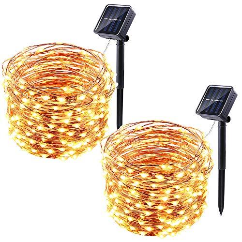 100 Led Fairy Solar String Lights